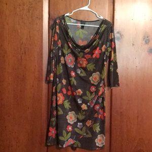 Clara Sun Woo Faux Wrap Dress
